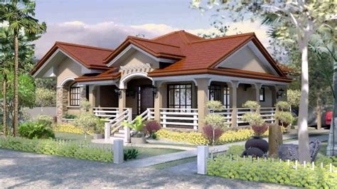 Bungalow House Design With Terrace In The Philippines
