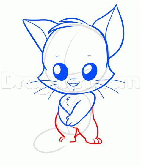 draw  furry chibi cat furry step  step chibis