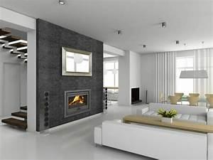 Cheminee moderne 60 idees de decoration d39interieur for Couleur de peinture de salon 1 jlggbblog2 183 peinture