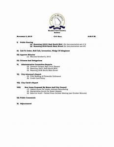 City Council Meeting Agenda for November 3, 2015 - City Of ...
