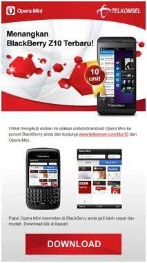 telkomsel undian gratis berhadiah blackbery z10 dan pulsa info seluler dan mobile