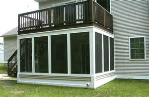 Screen Porch Under Existing Deck