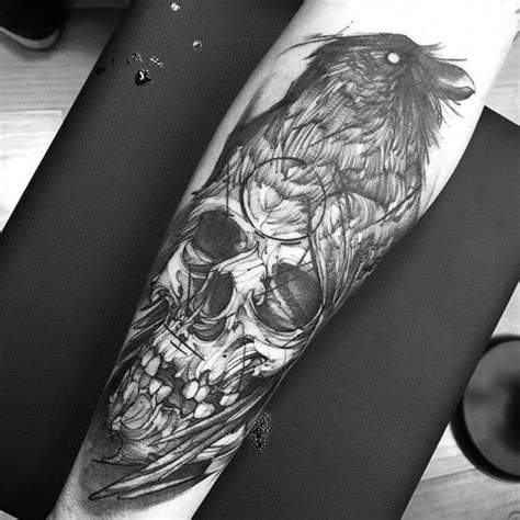 latest crow tattoos collection