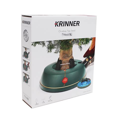 krinner vbasic small 6ft 1 8m christmas tree stand