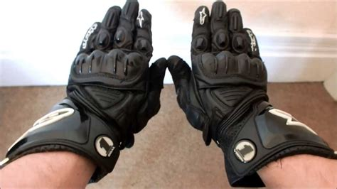 alpinestars gp pro black leather gloves review motorcycle