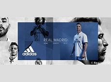 Here are the new kits for the 201617 season Real Madrid CF