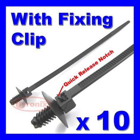 Cable Ties Kit Car Boat Trailer Tie Wrap Fixing Clip