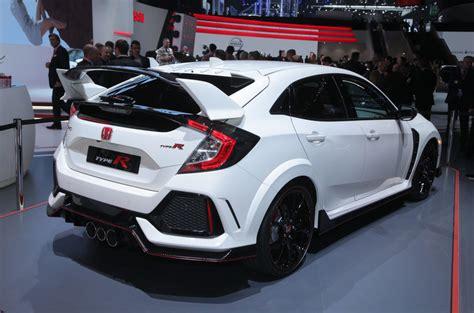 Honda Civic Type R Unveiled At Geneva Motor Show 2017
