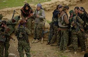 Fighting Isis on the frontline with the YPJ   Red Pepper