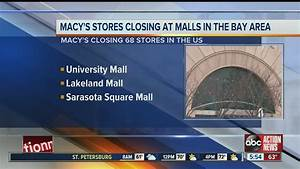 Macy's stores closing at malls in the Bay area - YouTube