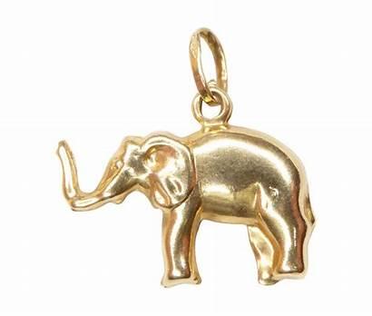 Gouden Hanger Olifant