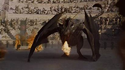 Thrones Dragons Fire Season Dragon Drogon Daenerys
