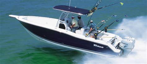 Triton Offshore Boats by Research Triton Boats 2895 Cc Center Console Boat On