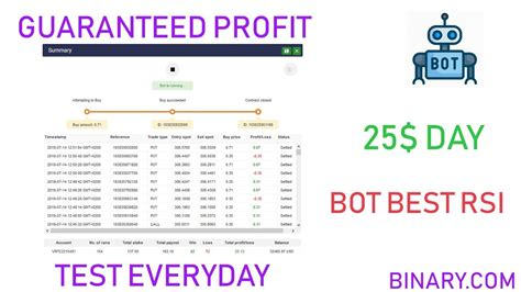 Today i come up with a nice and effective binary robot. Binary Bot Rsi Kb / Rsi Bollinger Bands And Martingale All In One Bot Issue 2684 Binary Com ...