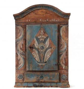 wall cabinet swedish folk 19th century h 228 ngsk 229 p allmoge v 228 stra dalarna 1800 tal
