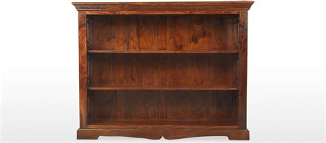 Low Bookcase by Jali Sheesham Low Bookcase Quercus Living