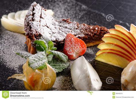 table haute cuisine haute cuisine dessert royalty free stock photo image