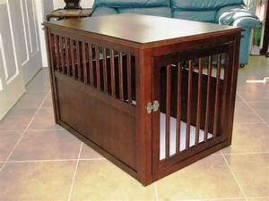 Large Dog Crate Furniture — Optimizing Home Decor Ideas