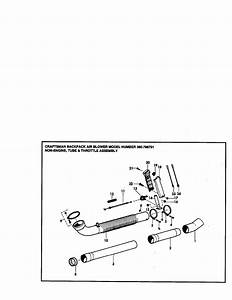 Craftsman 360796791 Gas Leaf Blower Parts
