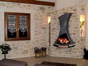 decoration mur salon pierre With deco salon mur pierre