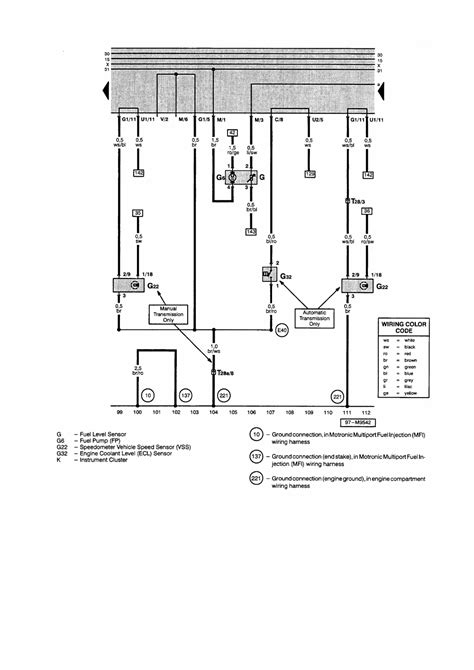 Standard Brake Light Switch Wiring Diagram by Repair Guides
