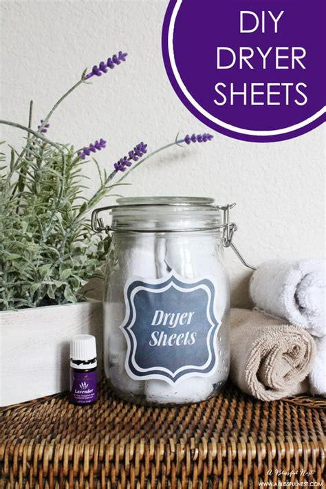 homemade dryer sheets  lots  tutorials