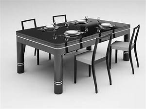 emejing table billard transformable contemporary With billard table salle a manger