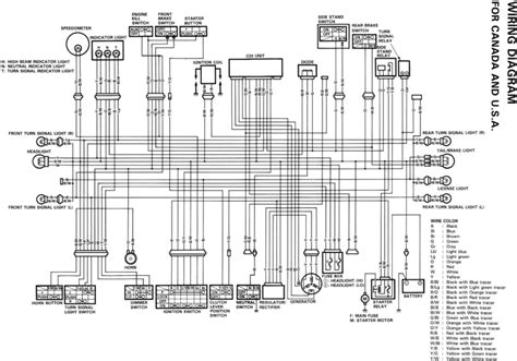 89 Yamaha Virago Wiring Diagram by Dr800s