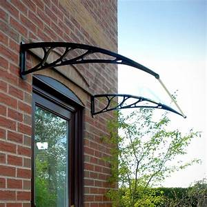 Door Canopy Opaque Corrugated Awning Shelter Roof Front
