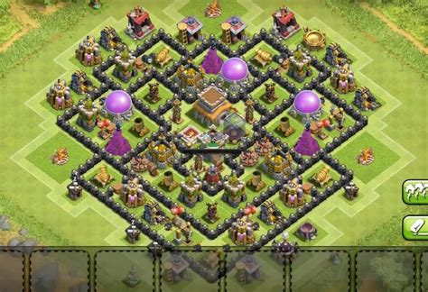 8 inside town farming base layouts for 2016 8 inside town farming base layouts for 2016 th7 to th11 8 in