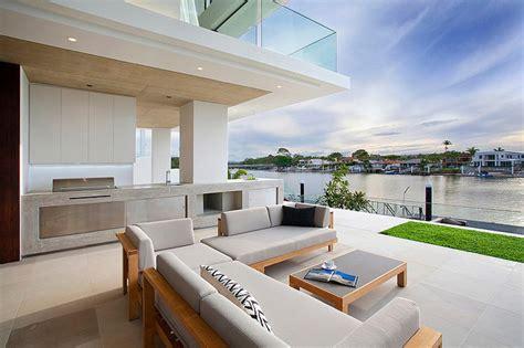 cuisine d été moderne maison moderne australienne pour une famille moderne