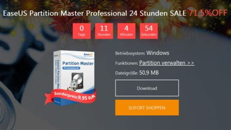Windows 7 Professional Kaufen 281 by Easeus Partition Master Professional 12 9 95 F 252 R
