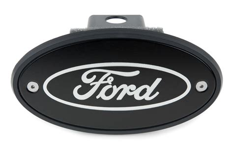 ford hitch cover silver