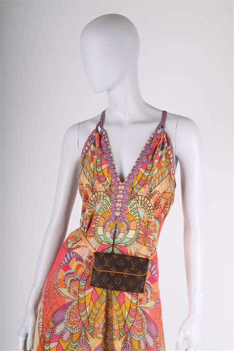 louis vuitton florentine monogram fanny pack waist belt bag brown  stdibs