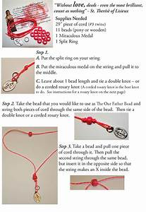How To Make Sacrifice Bead Bracelets