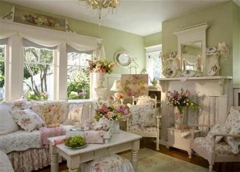 shabby chic cottage ideas 37 enchanted shabby chic living room designs digsdigs