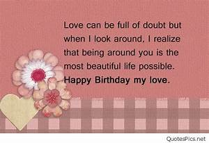 Happy birthday my love cards & photos 2016 2017