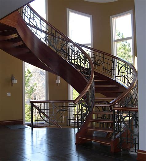 Luxury Residential Southern Staircase Artistic Stairs