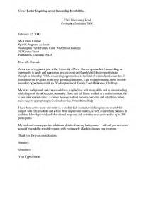 Best Cover Letter For Internship Application