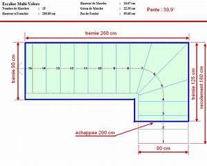 Calcul Escalier Quart Tournant : besoin d 39 aide pour calcul escalier quart tournant ~ Dailycaller-alerts.com Idées de Décoration