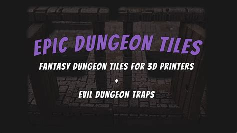 3d Dungeon Tiles Uk by Epic Dungeon Tiles Tiles For 3d Printers