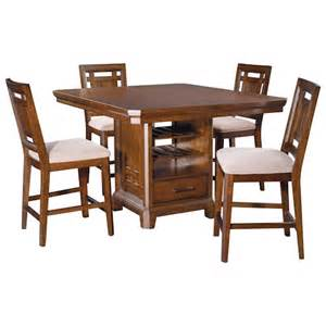 broyhill furniture estes park 5 counter height table