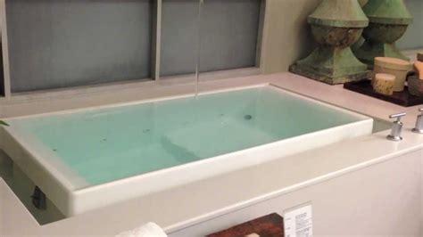 Infinity Bathtub Kohler bravi ceiling mounted bath filler by kohler youtube