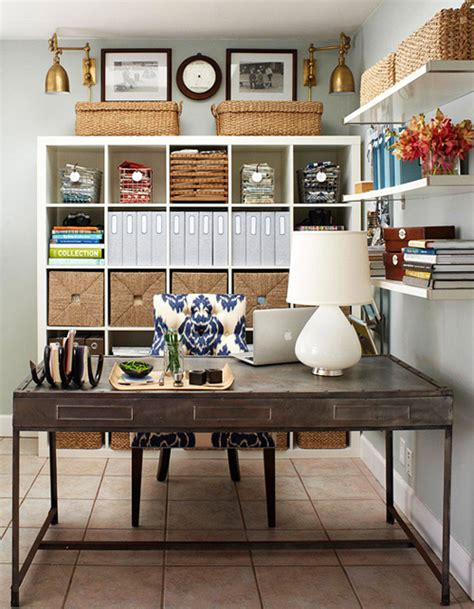 home office desk organization ideas organized home office spaces interiors b a s blog