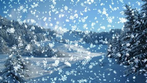 Animated Snowing Wallpapers - falling snow animated wallpaper 57 images