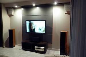 Accroche Tele. deco au dessus tv accroche tele au mur deco tv au mur ...