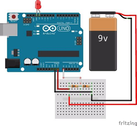 Arduino Battery Voltage Indicator Steps With Pictures