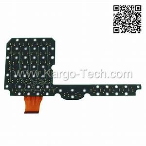 Keypad Keyboard Pcb Replacement For Trimble Acu   Trimble Repair Parts  U0026 Accessories