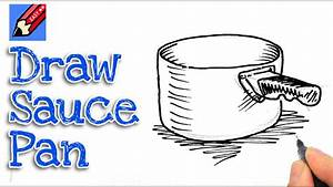 How to draw a Saucepan Real Easy - Spoken Tutorial - YouTube