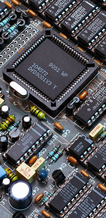 Electronic Phone Components Wallpapers Circuit